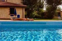 agriturismo con piscina terme saturnia